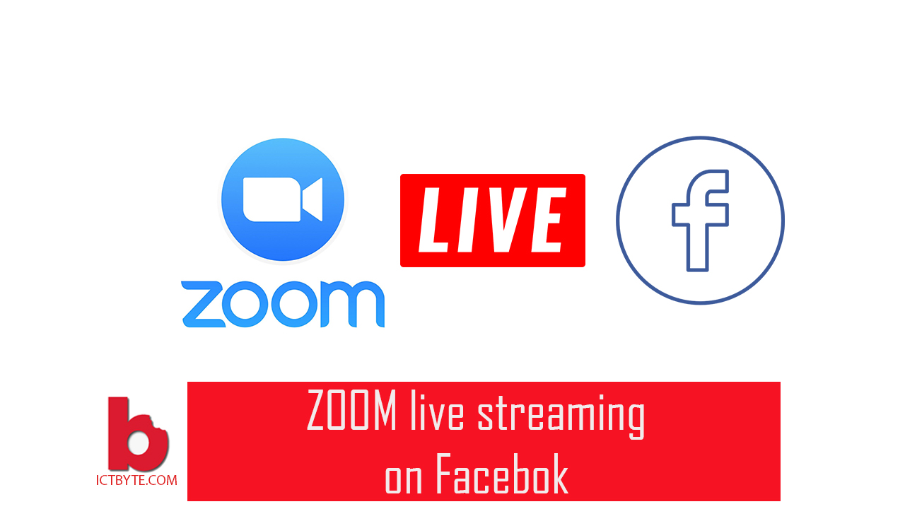 zoom live streaming on facebook