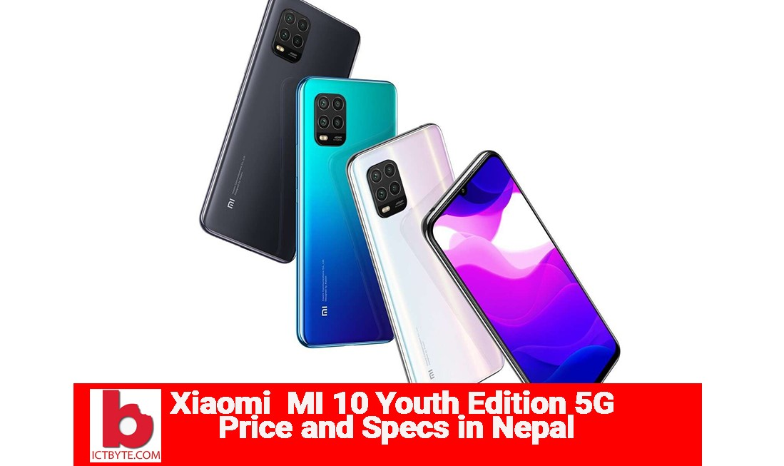 Xiaomi Mi 10 youth Edition 5G in Nepal