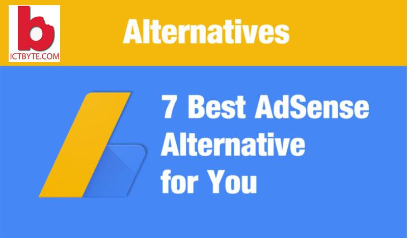 7 best google adSense alternatives