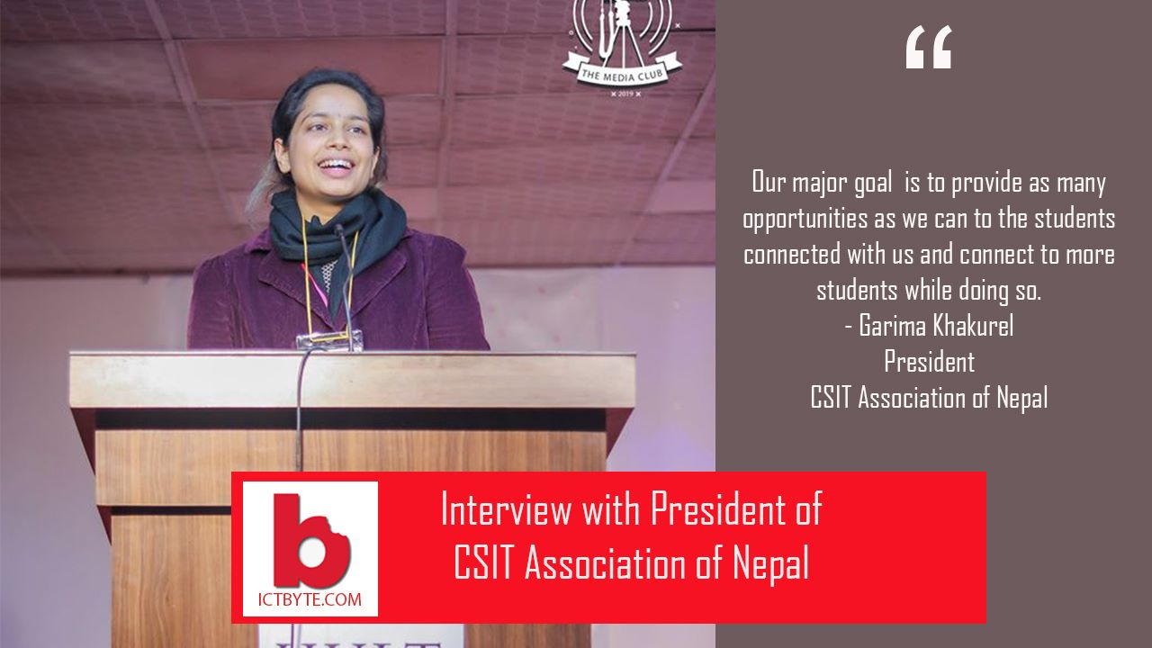 garima khakurel, CSIT Association of Nepal