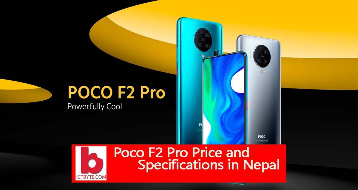 poco F2 pro in Nepal