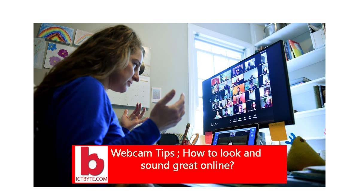 webcam tips