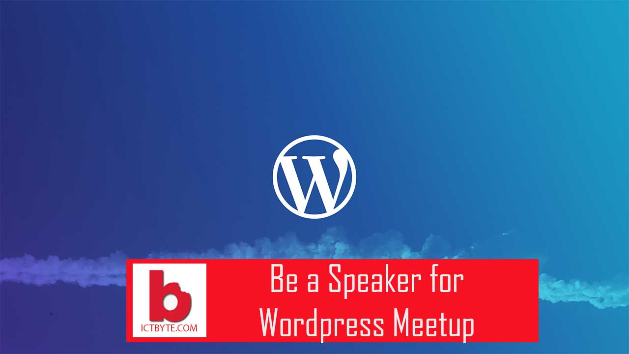speaker for wordpress meetup