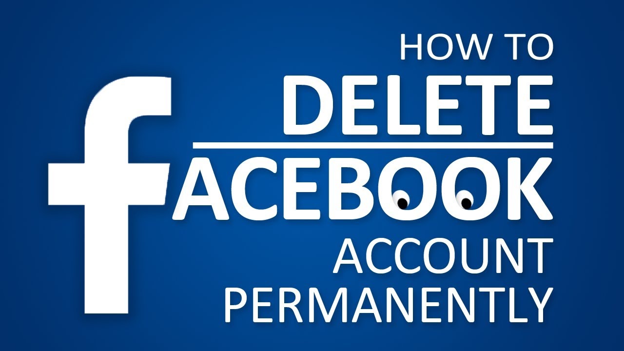 delete facebook account