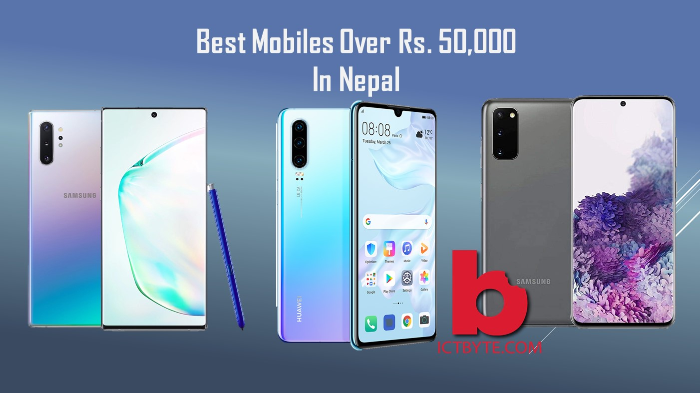 Mobiles over Rs 50