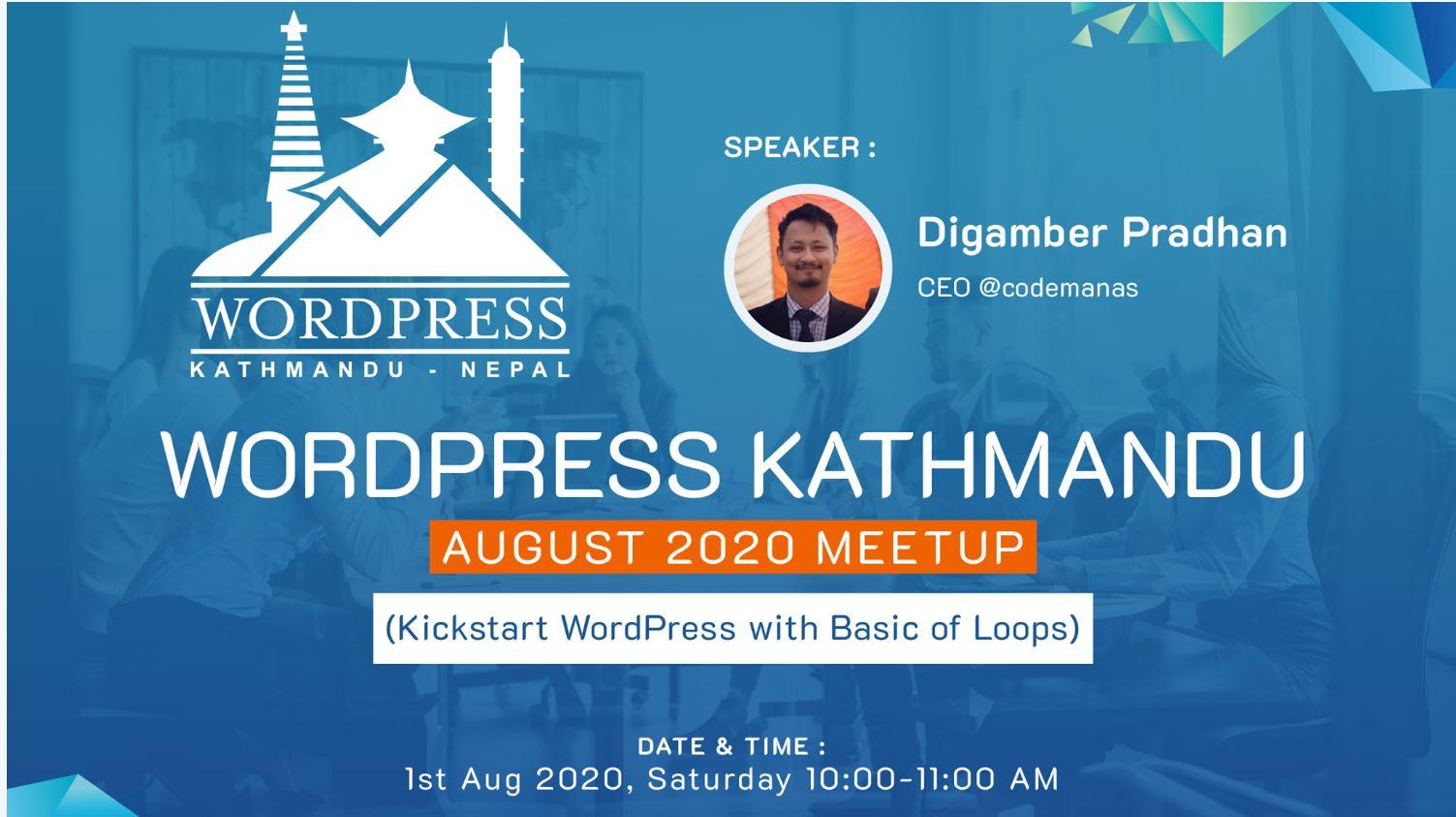 WordPress Kathmandu Event