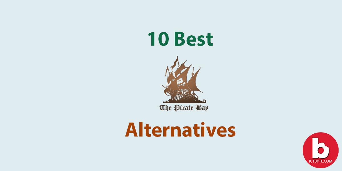 10 best Pirate Bay Alternatives