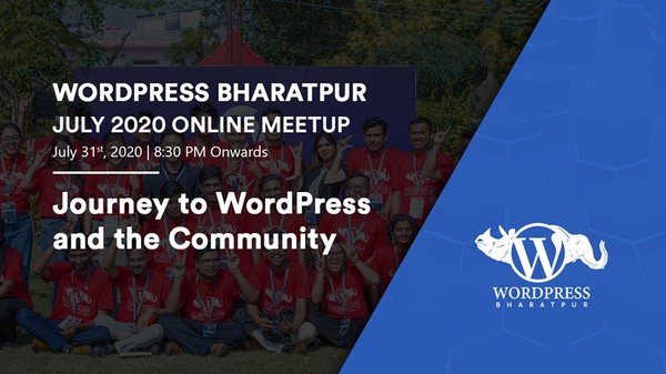 WordPress Bharatpur meetup