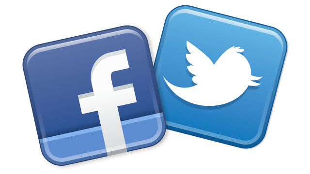 Facebook page to Twitter