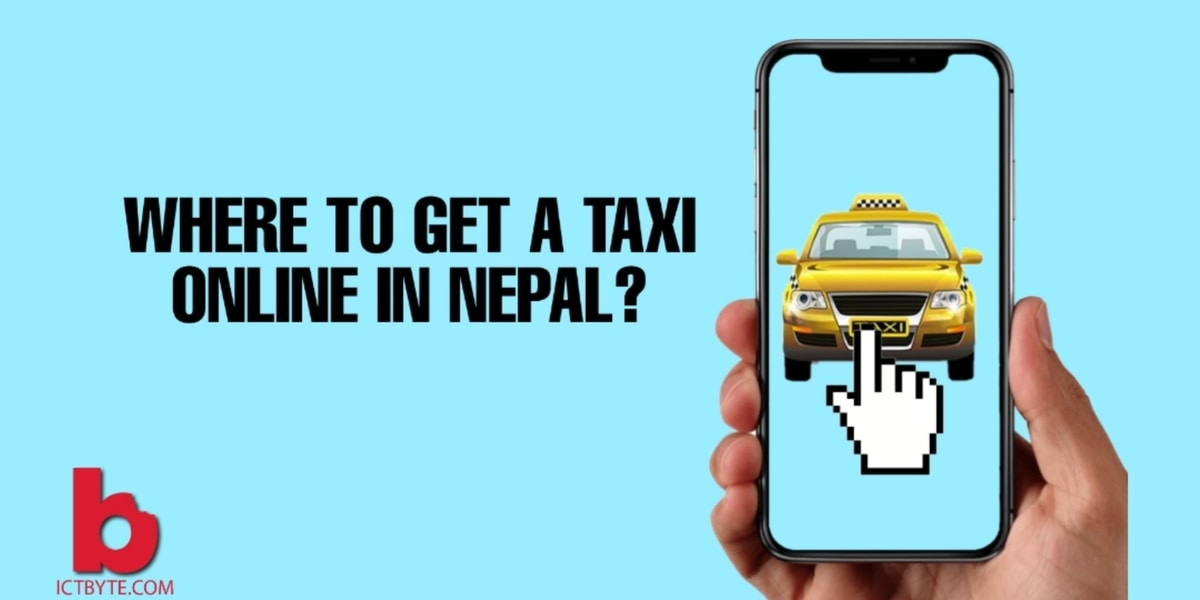 taxi online in nepal