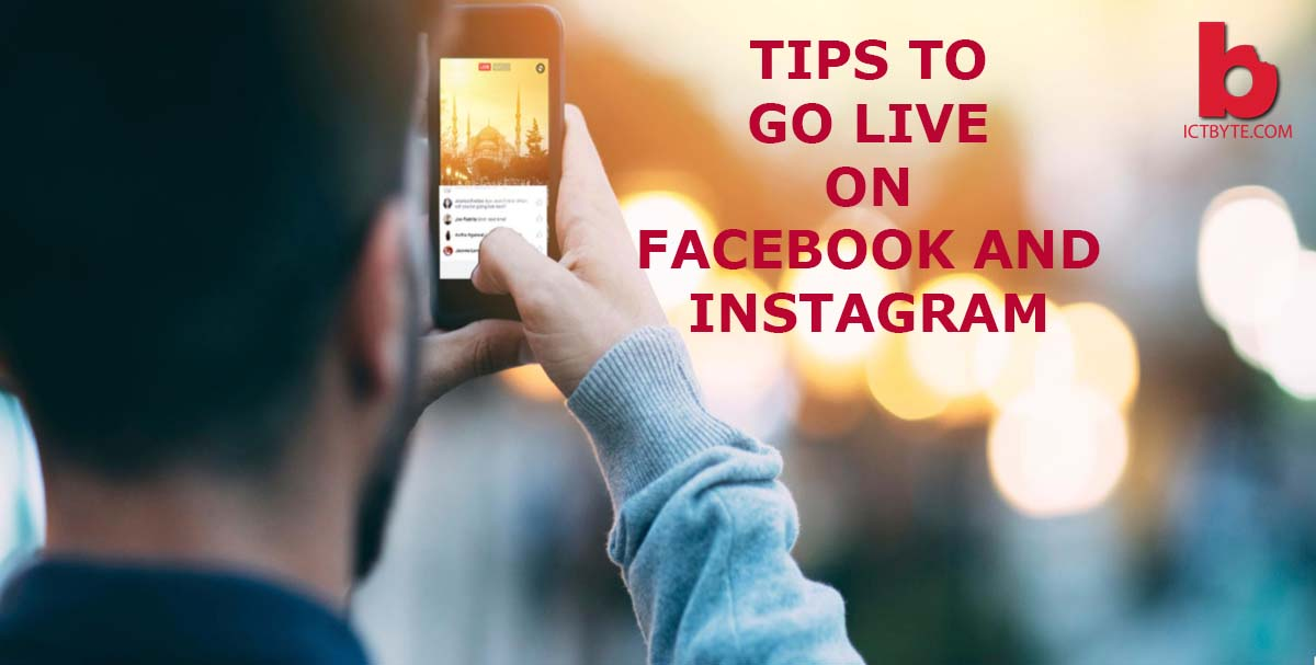 tips to go live