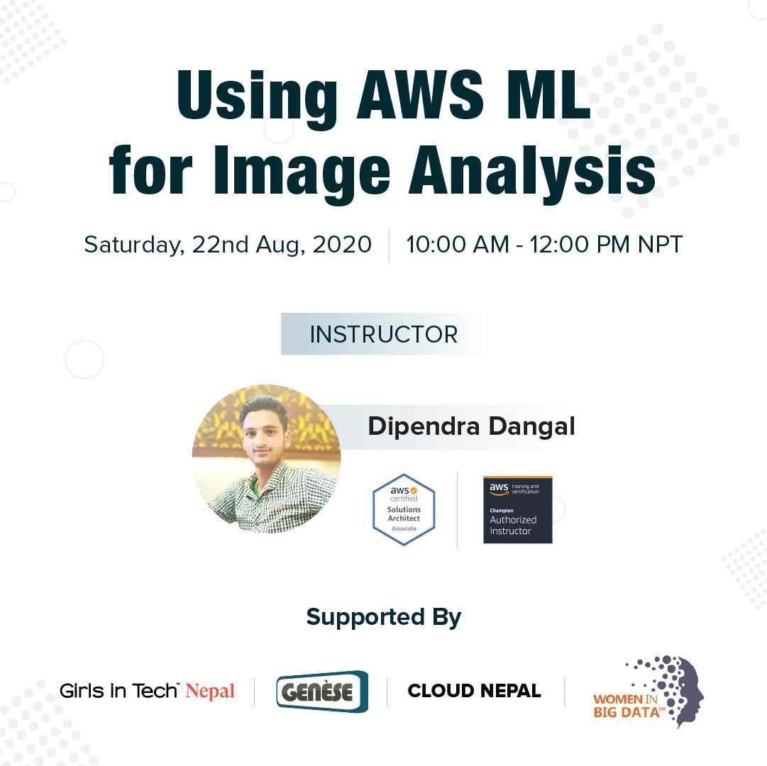 Using AWS ML for Image Analysis