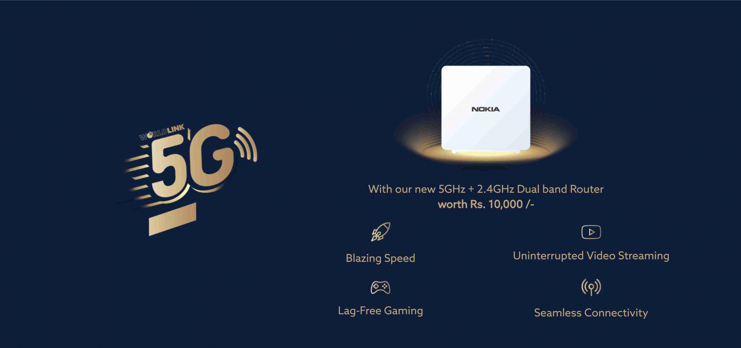 WorldLink 5G Gold Plan