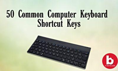 Computer Keyboard Shortcut Keys 50 list