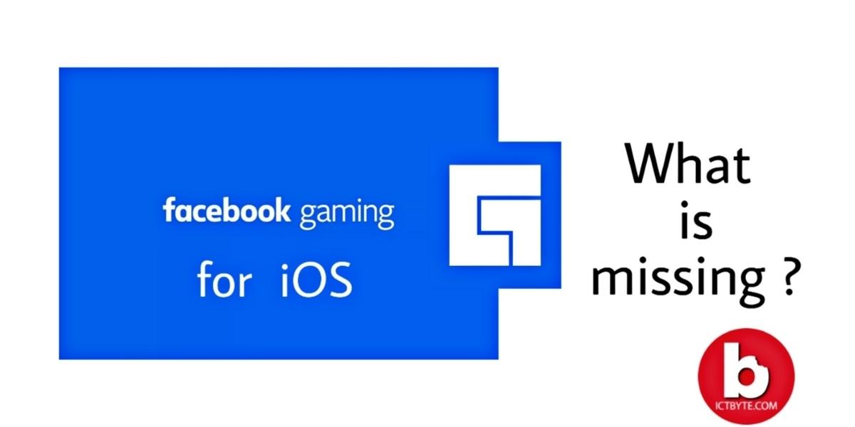 Facebook gaming App launch in iOS