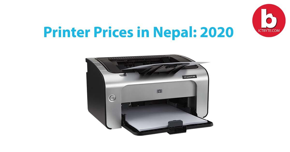 printer prices in Nepal