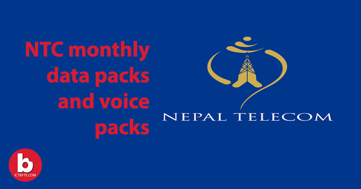 NTC monthly data pack