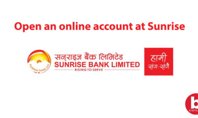 Online account at Sunrise Bank