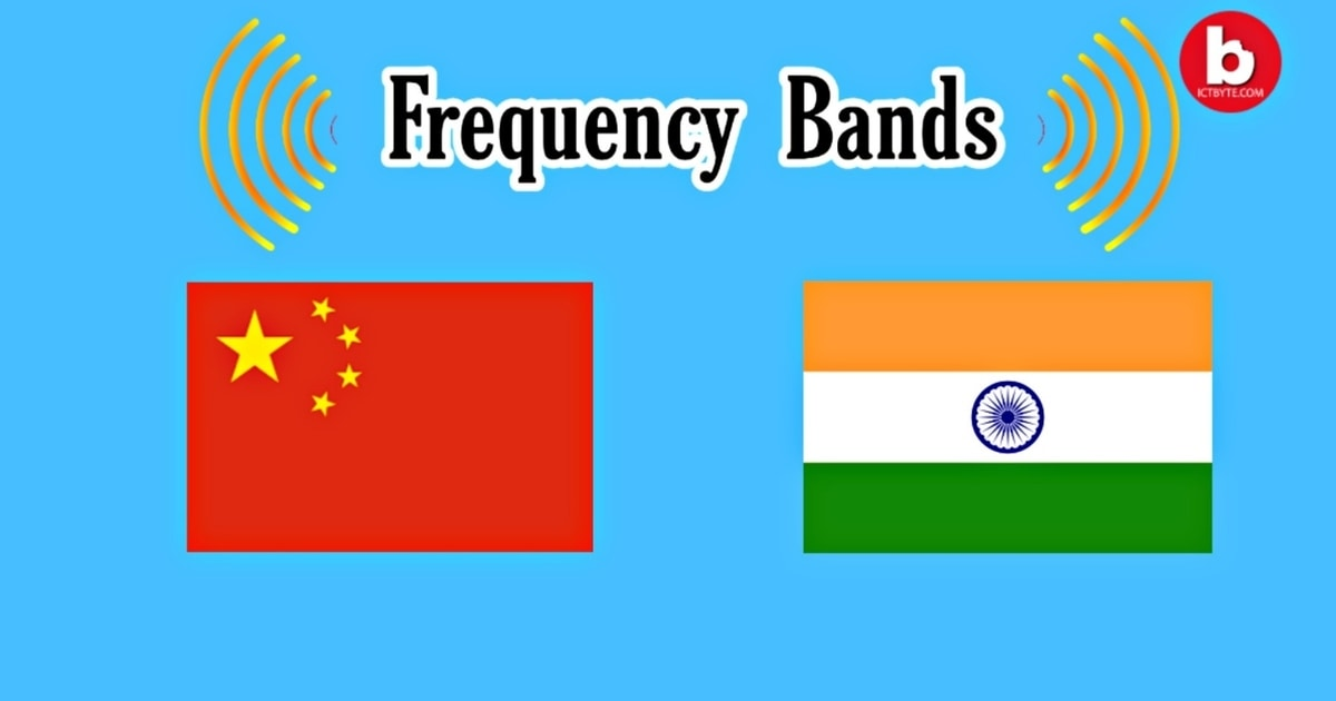 Frequency bands in China & India