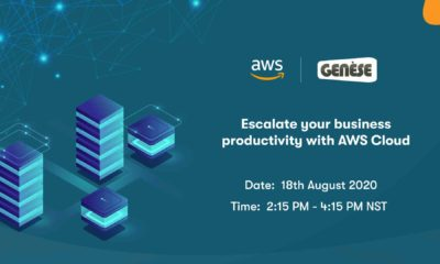 Escalate your business productivity with AWS Cloud