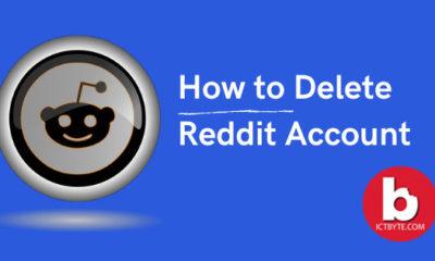 delete Reddit account