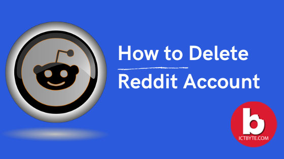 delete Reddit account