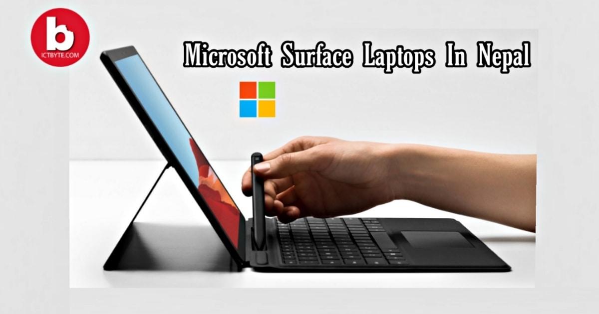 Microsoft Surface Laptops in Nepal