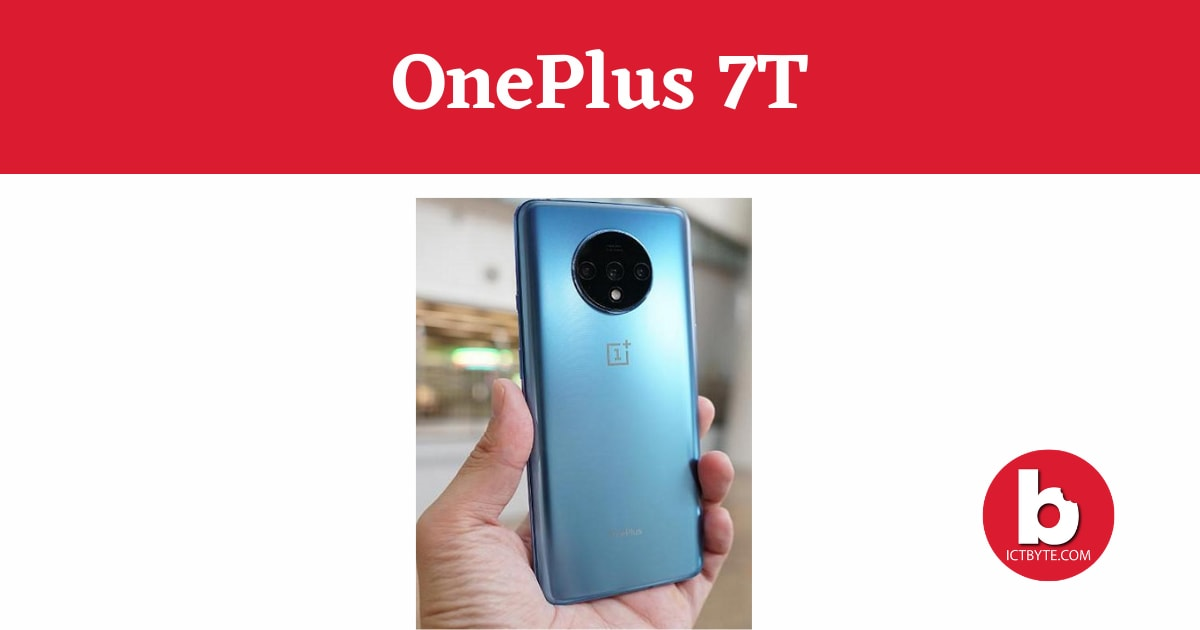 OnePlus 7T specs and price
