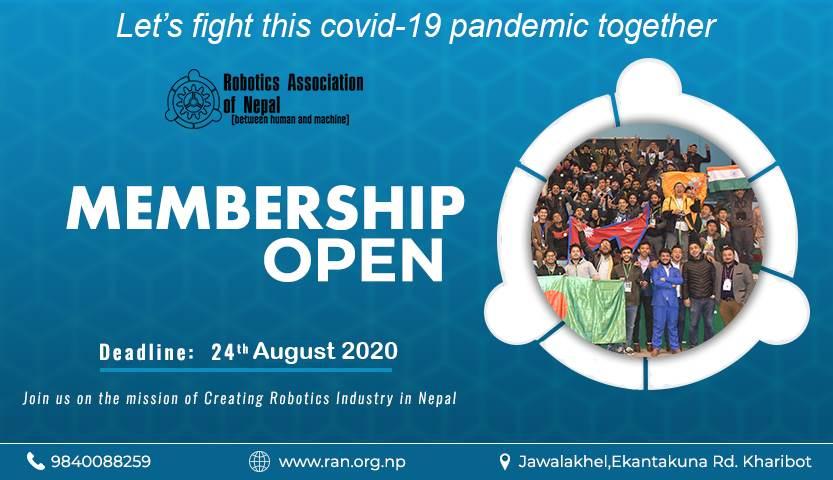 Robotics Association of Nepal membership