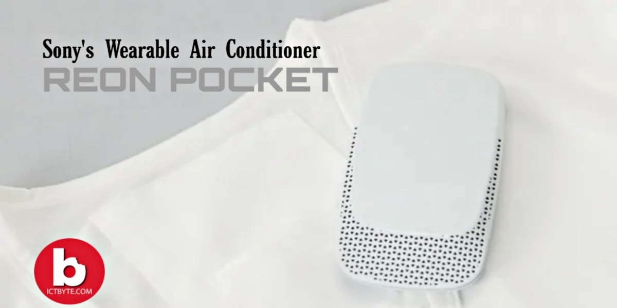 Sony's Wearable Air Conditioner about