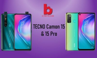 TECNO Camon 15 & 15 Pro to launch soon in Nepal