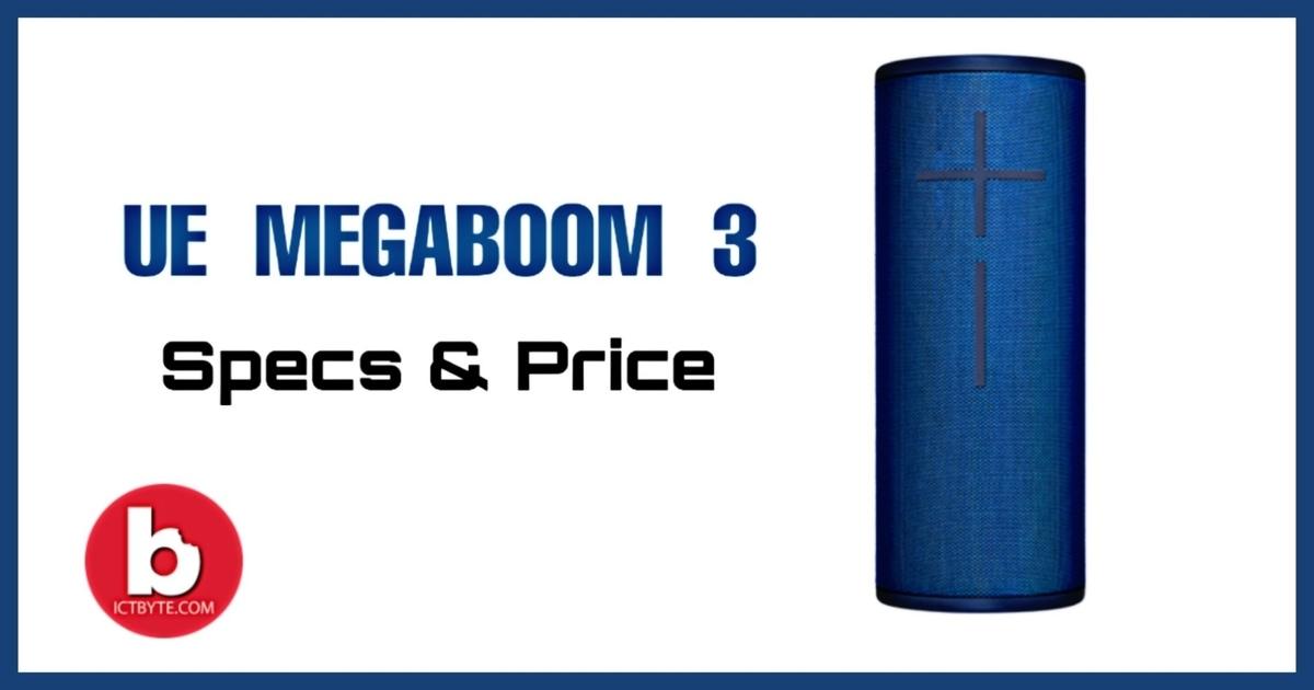 UE Megaboom 3 Bluetooth Speaker