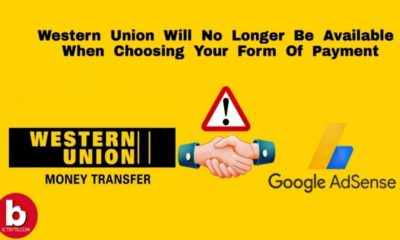 Western Union no longer available