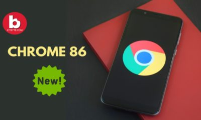 google Chrome 86 new