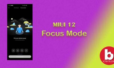 MIUI 12-focus mode
