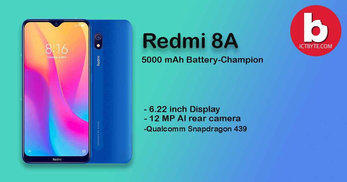 Redmi 8A -cover
