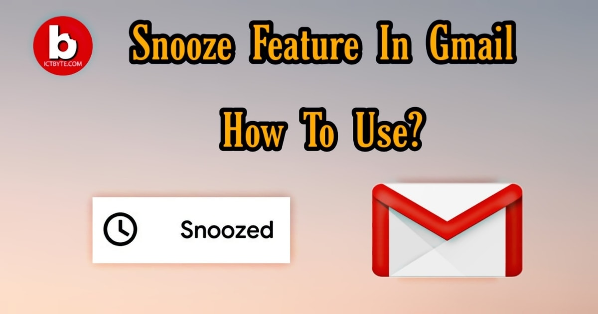 snooze feature in gmail how to use