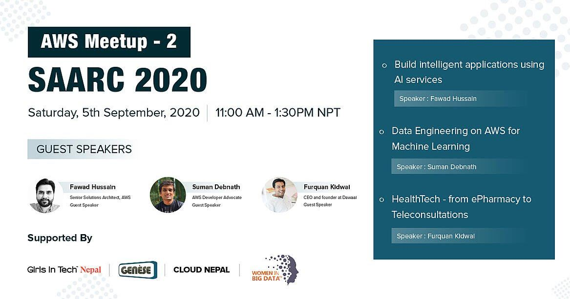 AWS SAARC Meetup 2020