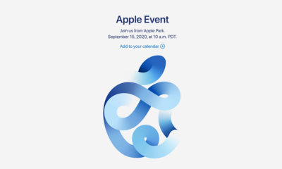 Apple event announcement