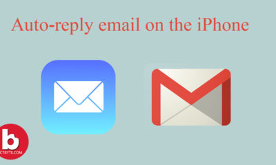 auto-reply email on the iPhone