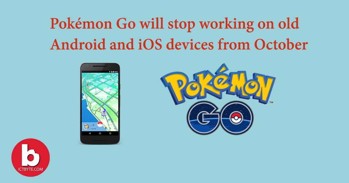 Pokémon Go will stop working feature