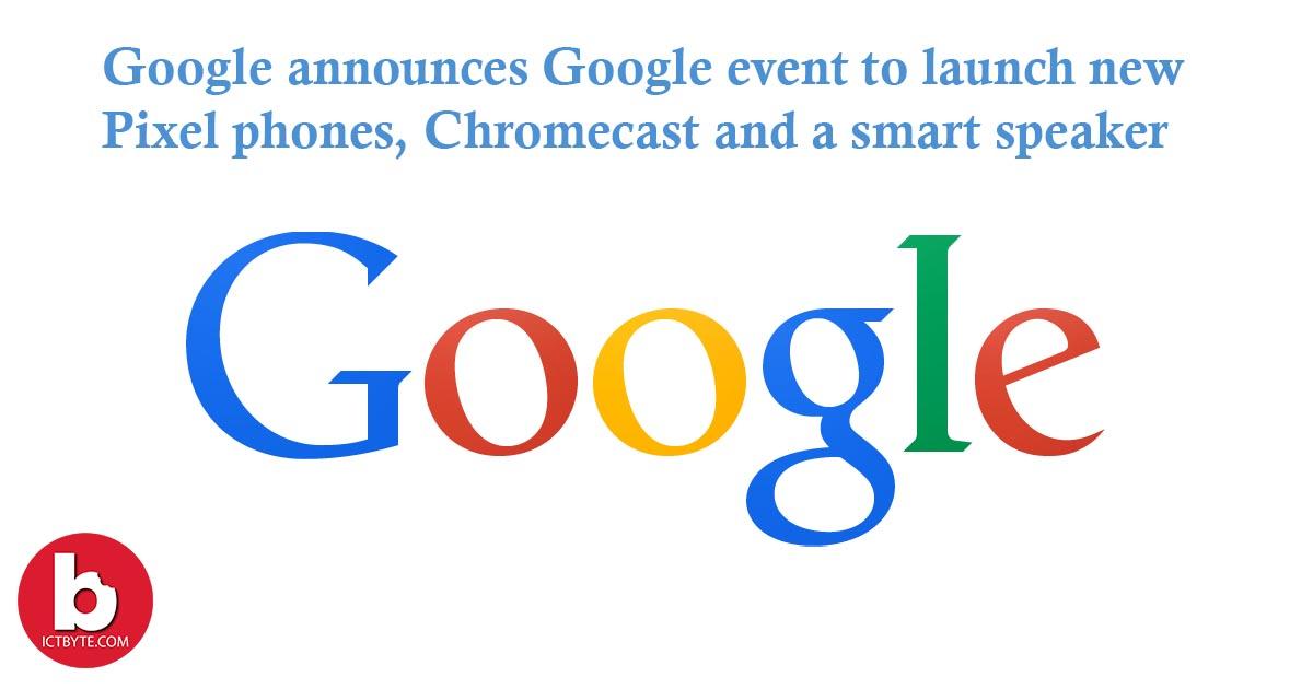 Google Pixel 5 launch event