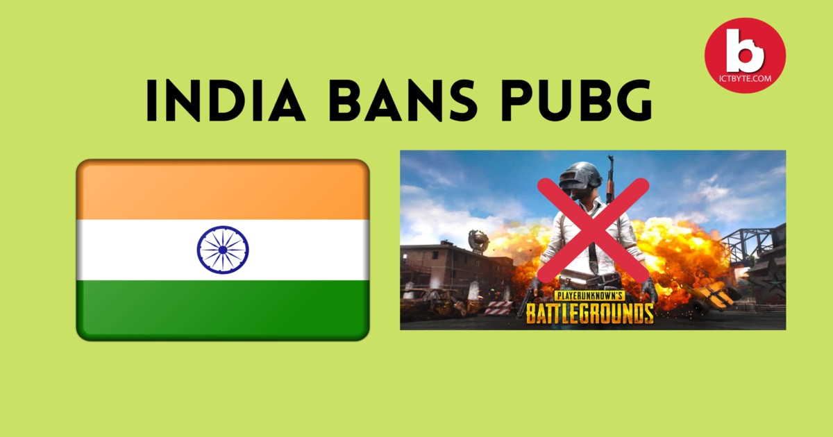 INDIA BANS PUBG with other chinese apps