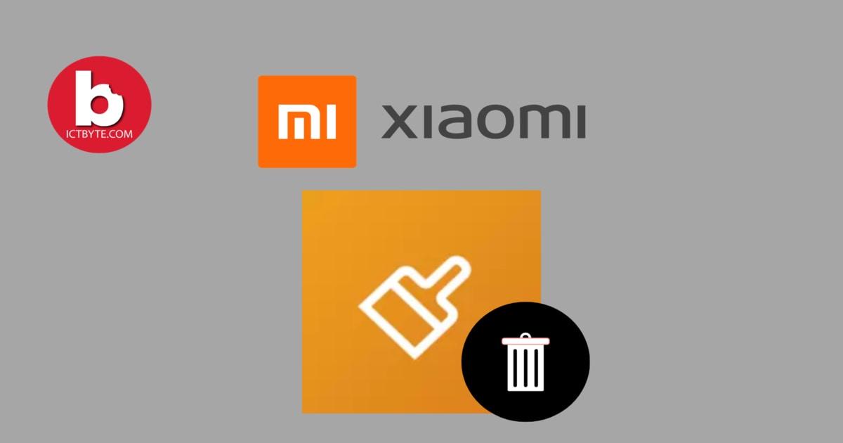 MIUI Cleaner App Why