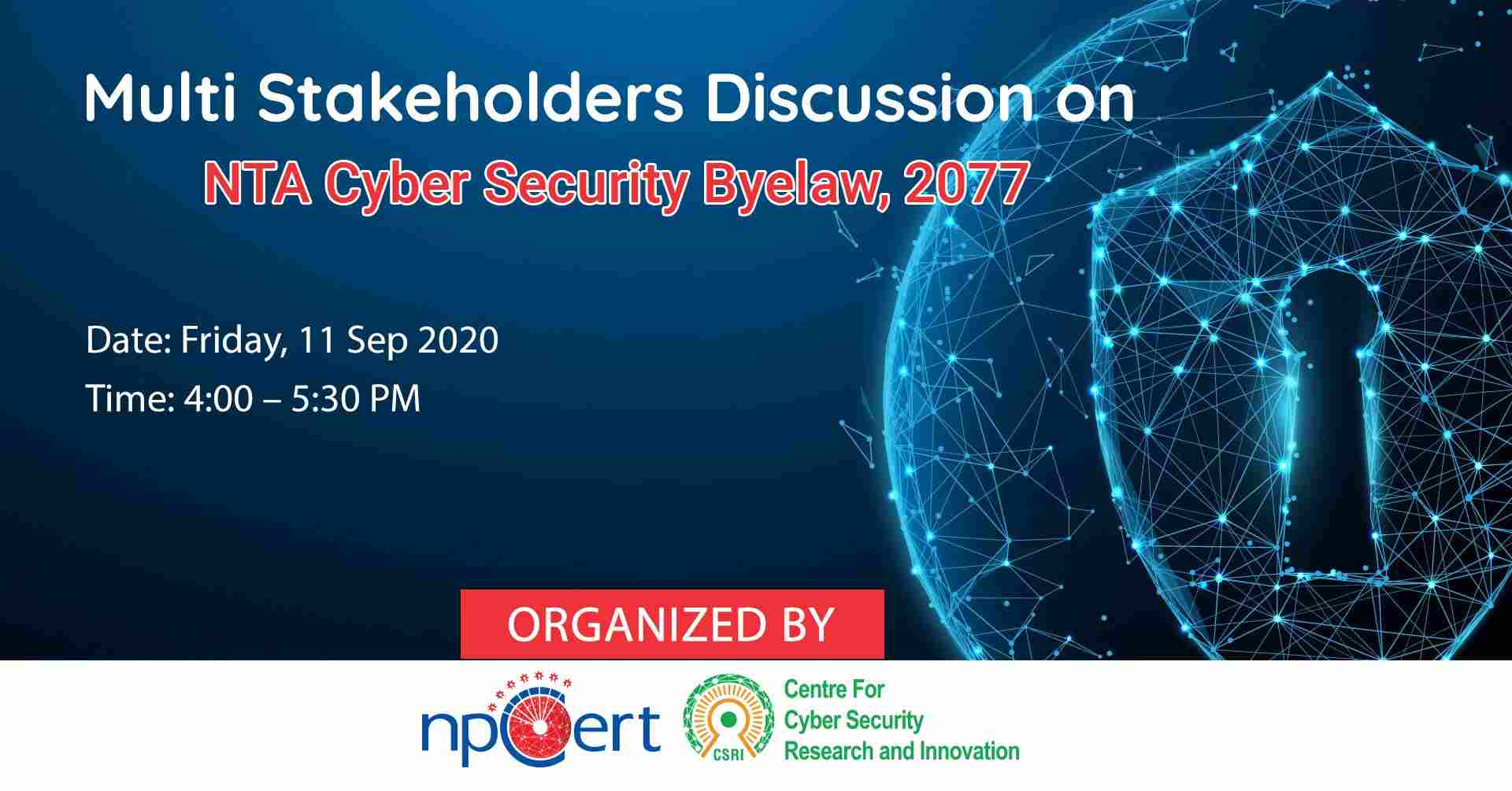 NTA Cyber Security Byelaw, 2077