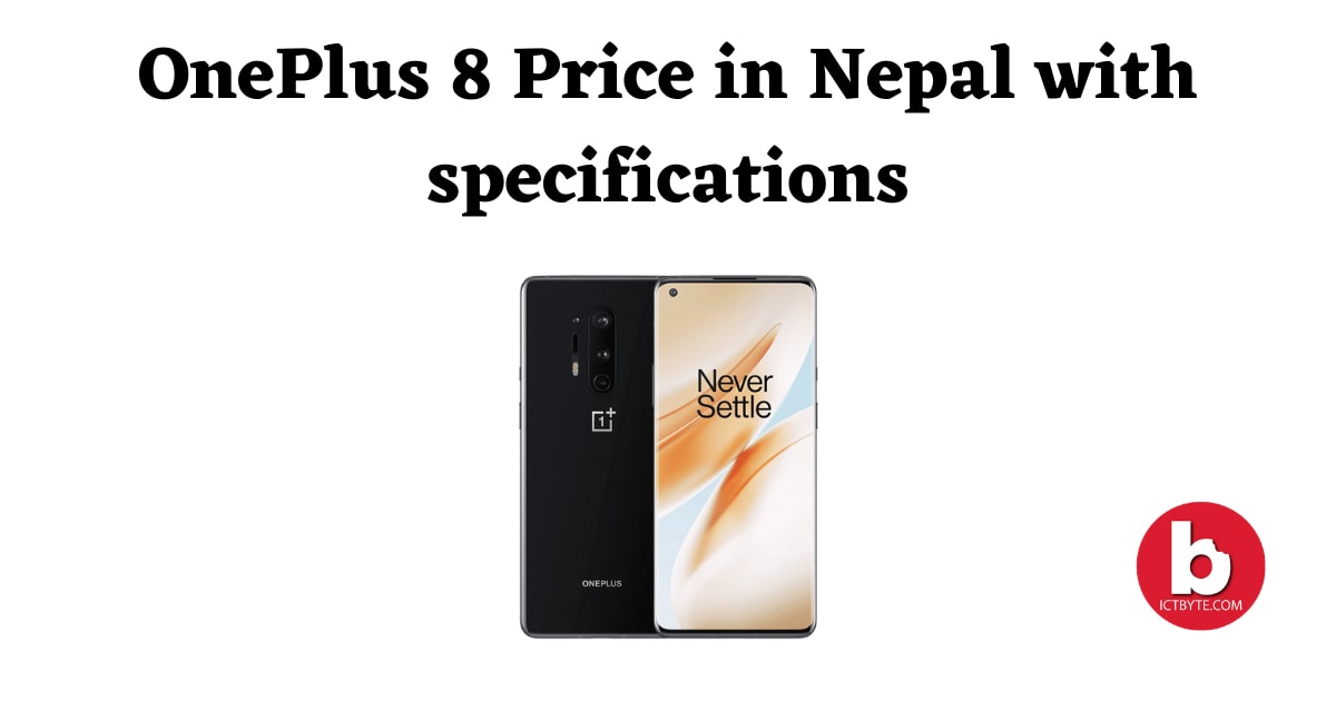 OnePlus 8 Price in Nepal with specifications