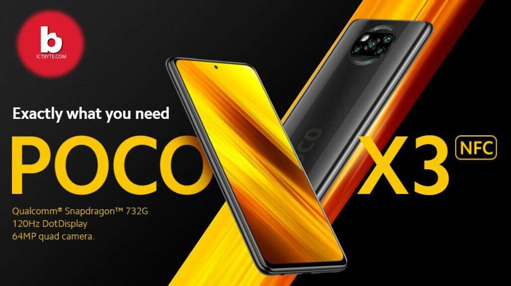 Poco X3 NFC 1 price in nepal