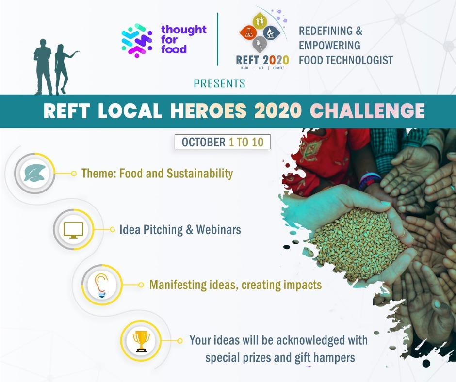 REFT LOCAL HEROES 2020 CHALLENGE
