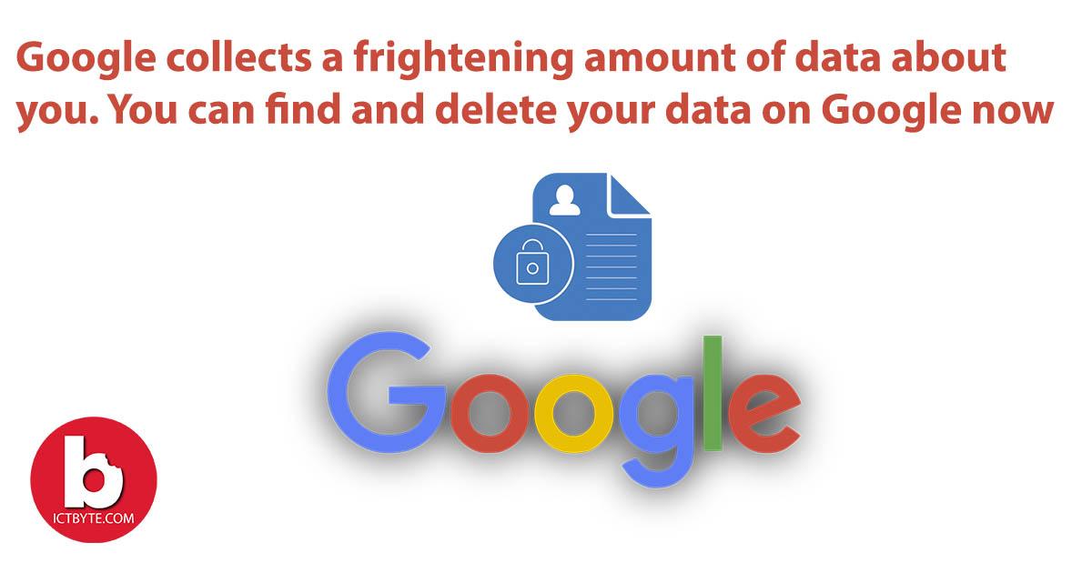 delete your data on Google