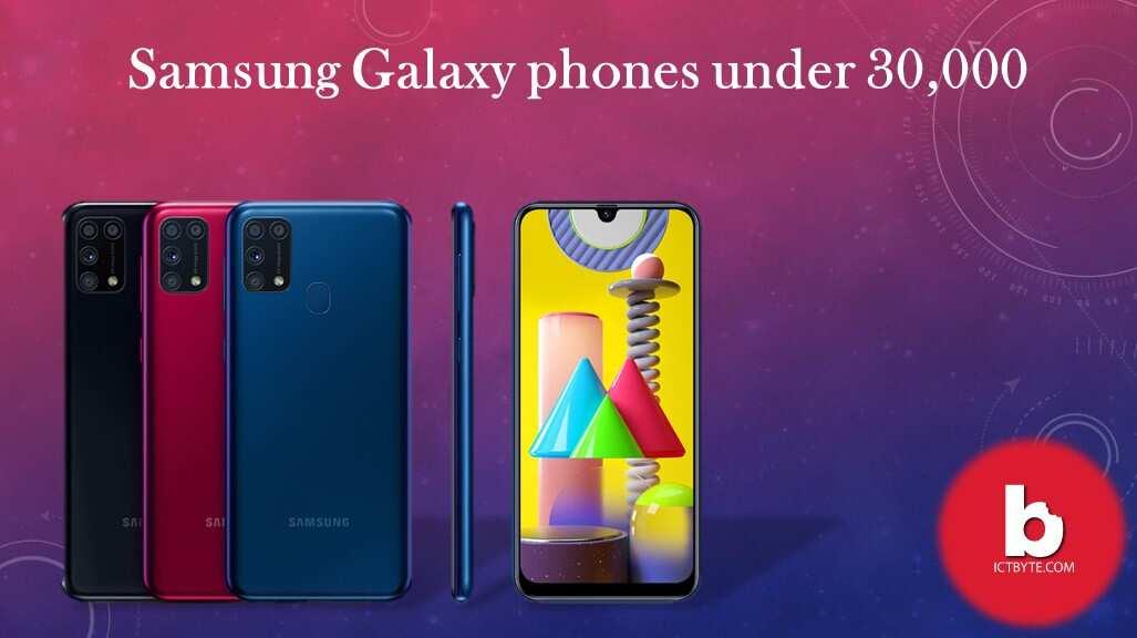 Samsung Galaxy phones under 30,000 In Nepal
